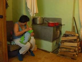#25 Tatiana Sundiga with Her Son Vladik