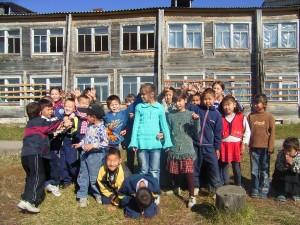 Dszd_Kids of Krasny Yar Village, October 2005