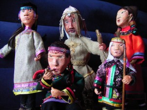 Dszd_Udege dolls, Krasny Yar Village, August 2007
