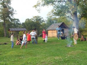 Tourists in Krasny Yar, September 2007_Dszd