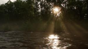 'sunset light'